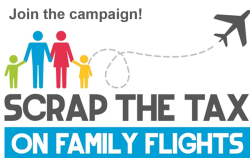 Scrap the Tax on Family Flights